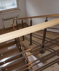 Balustrady drewno